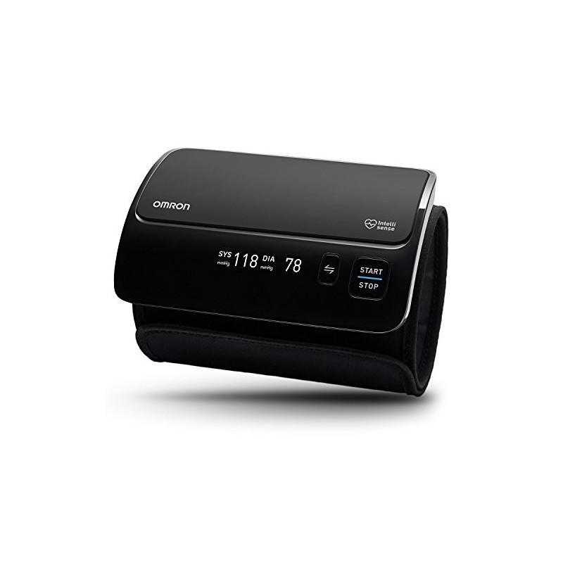 OMRON EVOLV - Tensiómetro de Brazo Todo en Uno, Inalámbrico, Bluetooth, Aplicación OMRON Connect para Móviles, Tecnología Int