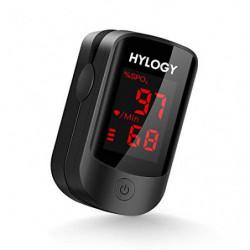 HYLOGY Oxímetro de Pulso Pulsioximetro de Dedo Profesional saturacion oxigeno oxímetro con pantalla OLED