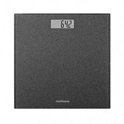 """Medisana PS 500 """"Glitter"""" báscula de baño digital de hasta 180 kg, báscula de baño de vidrio, pantalla LED invisible, báscula"""