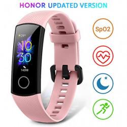 HONOR Band 5 Smartwatch Pulsera de Actividad con Pulsómetro Mujer Hombre Monitor de Actividad Deportiva Ritmo Cardíaco Imperm