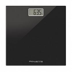Rowenta BS1060 Premiss - Báscula Digital con Pantalla LCD, Compacta, Capacidad de 150 kg, Plataforma de Vidrio y Apagado Auto