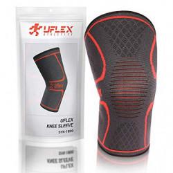 UFlex Athletics - Rodillera de compresión para correr, trotar, deportes, alivio del dolor en las articulaciones, artritis y l