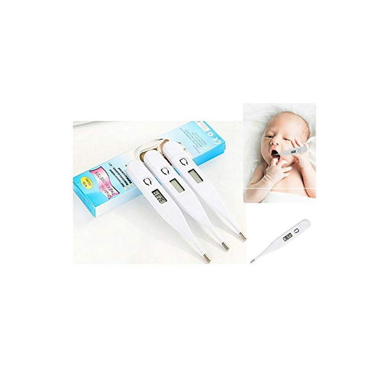 Termómetro electrónico, termómetro doméstico para las axilas orales, adecuado para bebés, niños y adultos, medición de temper