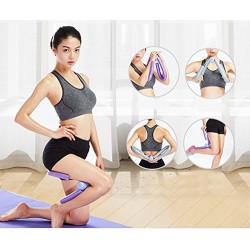 YNXing - Ejercitador de muslos, moldea, adelgaza y tonifica los muslos, los glúteos, los brazos y las piernas, equipo de gimn