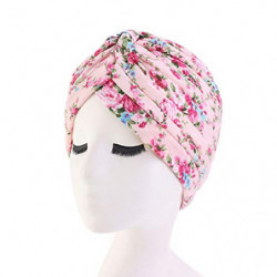 TININNA Diadema de algodón de Estilo étnico Sombrero Indio Pañuelo en la Cabeza Pañuelo en la Cabeza Pañuelo con Estampado de