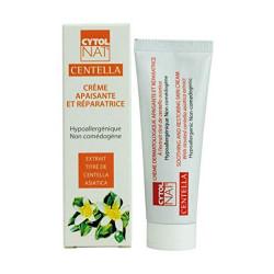 CYTOLNAT® Centella 50 ml, Crema reparadora y calmante – Centella Asiática – Hipoalergénica y no comedogénica