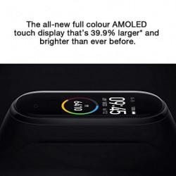 Xiaomi Smart Band 4, Adultos Unisex, Negro, Talla única