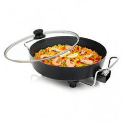 Princess 162367 Multi Wonder Chef Pro, Cazuela multiusos eléctrica versátil, 35 cm de diámetro, 7cm de profundidad, termosta