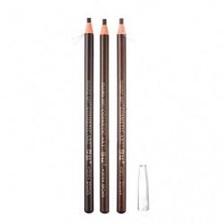 portátil impermeable lápiz de cejas para microblading Peel Off cuerda de tracción  3 piezas Marrón, Marrón oscuro, Marrón cla