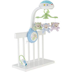 Fisher-Price - Móvil con ositos - juguetes bebe -  Mattel CDN41
