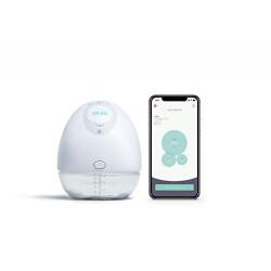 Elvie Pump - Sacaleches silencioso y portátil con aplicación – Sacaleches eléctrico portátil y manos libres perfecto para mad