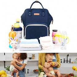DoerSpace Mochila Bebe Pañales, Bolso del Bebé Mamá Gran Capacidad Mochila de Pañales Bolso de Viaje para Mamá Cuidado de Beb