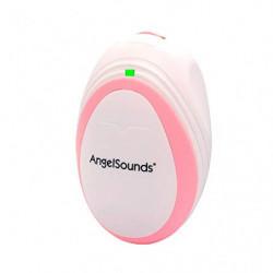 Mobiclinic, AngelSounds, Detector Fetal, Monitoreo de Movimiento, Monitor de latidos fetales, Detector de latidos portátil, L
