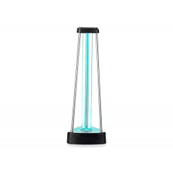 Lámpara germicida LedLux UV de 38 W con gas ozono para esterilización, desinfección y saneación de locales de hasta 60 m², ex